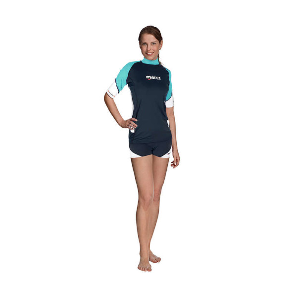 Mares Rash Guard Loose Fit Short Sleeve
